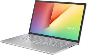 vivobook 17 laptop ryzen 7, 12gb ramX712DA-BR7N6