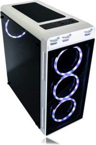 Alarco Gaming PC Desktop Computer White