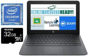 2021 newest hp chromebook 11.6-inch laptop