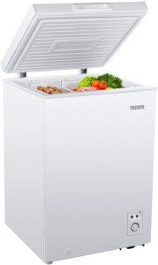 TECCPO Chest Freezer 3.5 Cu Ft