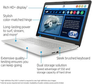 2020 New HP 17-by3063st