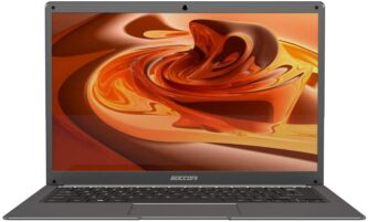 BOCCONI 14.1-inch Ultra-Thin Laptop Celeron N3350
