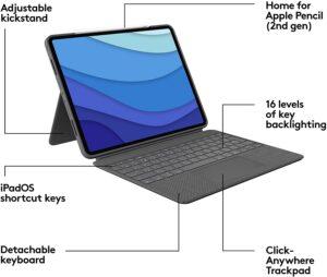 Logitech Combo Touch iPad Pro 12.9