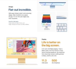 2021 model 24-inch Apple iMac