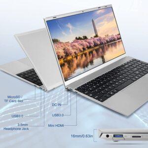 MANJEE 15.6 inch Windows 10 Laptop J4115