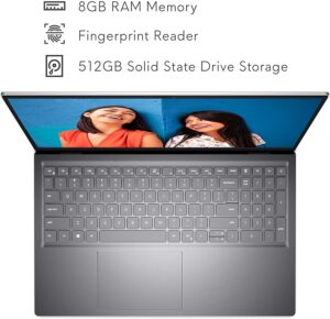 Dell Inspiron 15 5510 Laptop, 15.6 Inch FHD